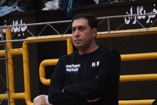 با استعفای سرمربی تیم بسکتبال شهرداری گرگان موافقت شد
