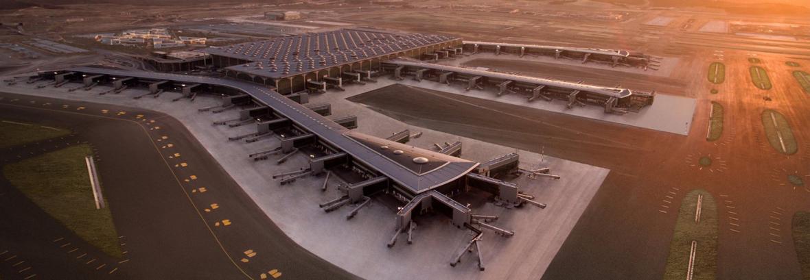 امکانات خاص فرودگاه جدید استانبول ، استراحت در سالن لاکچری