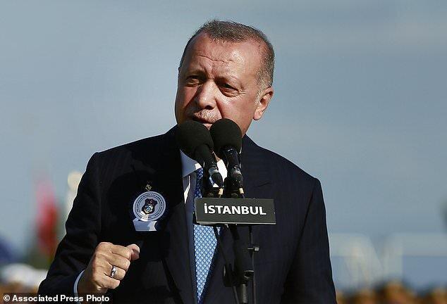اردوغان غرب را تهدید کرد