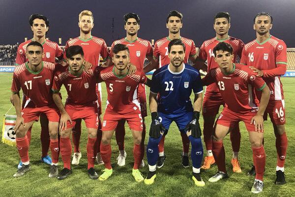تیم فوتبال امید ایران برابر ازبکستان بازنده شد