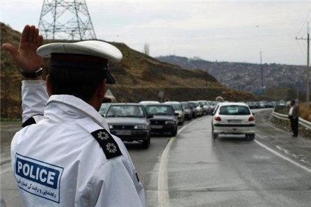 ترافیک نیمه سنگین در محور قزوین-کرج
