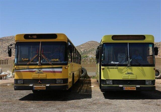 برخورد 2 اتوبوس درونشهری در شیراز 13 مصدوم به دنبال داشت