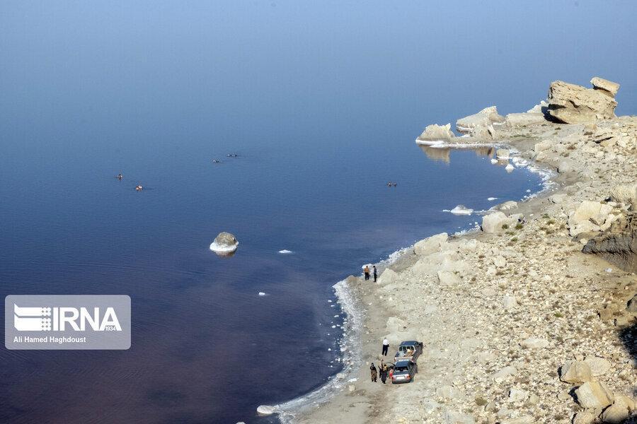 وسعت دریاچه ارومیه بیش از 1100 کیلومتر مربع افزایش یافت