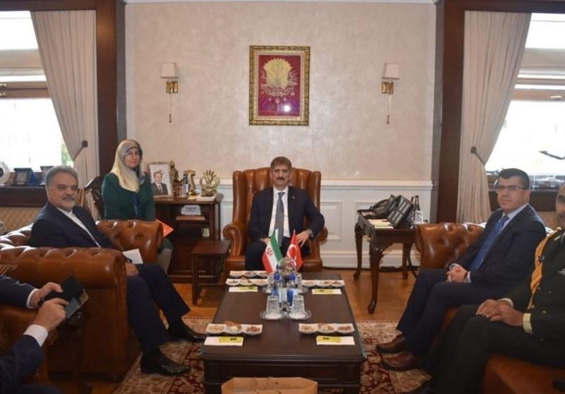 دیدار سفیر ایران با معاون وزیر کشور ترکیه