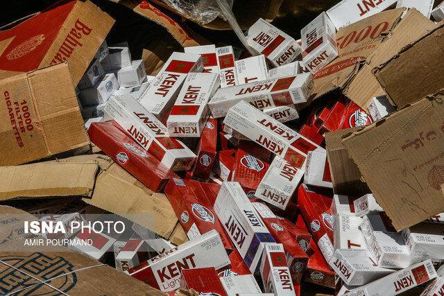 قاچاق دخانیات بیشترین قاچاق کالا در قزوین
