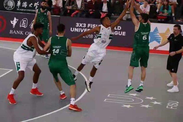 عنوان پنجمی تیم بسکتبال دانشجویان ایران در لیگ جهانی