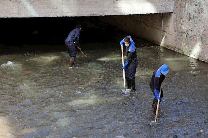 پیشگیری از آبگرفتگی معابر شمال شرق تهران