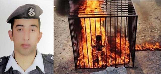 واکنش پدر خلبان اردنی که در آتش داعش سوزانده شد به مرگ البغدادی
