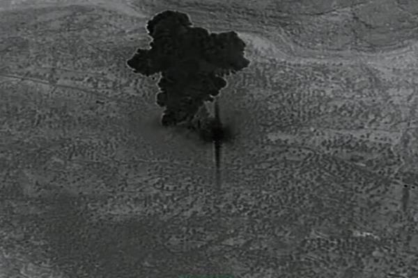پنتاگون ویدئوی عملیات ادعایی آمریکا علیه سرکرده داعش را منتشر کرد