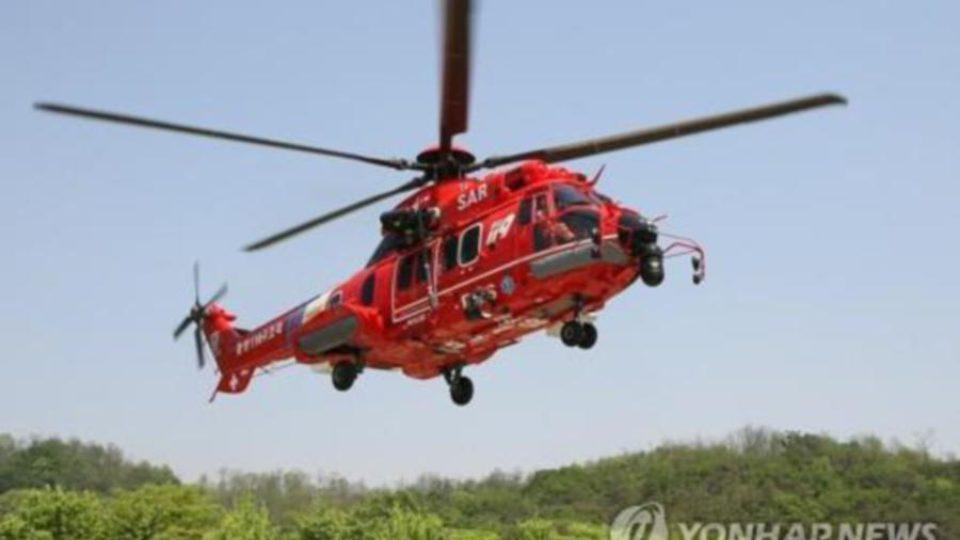 سقوط یک بالگرد کره جنوبی با هفت سرنشین
