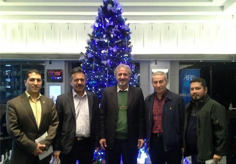 استقرار نمایندگان نفت، ذوب آهن و سپاهان در هتل محل قرعه کشی لیگ قهرمانان