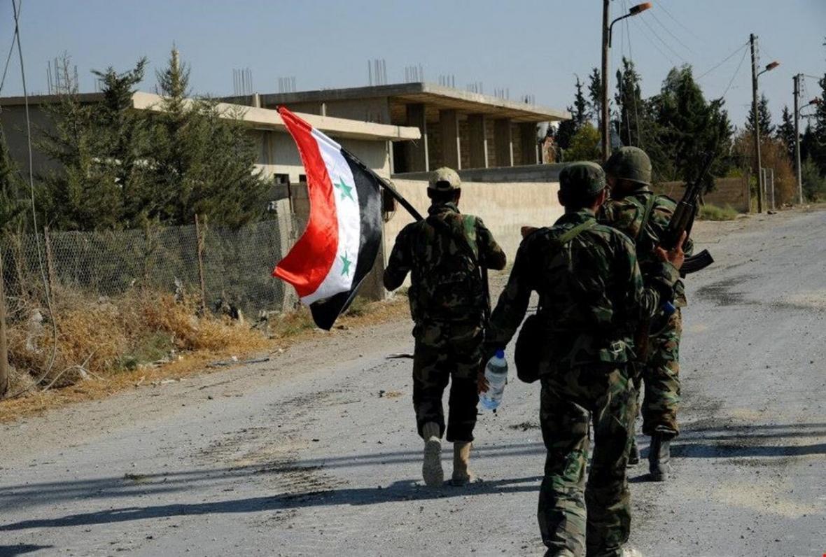 تسلط ارتش سوریه بر شهرک استراتژیک الصیر در حومه ادلب