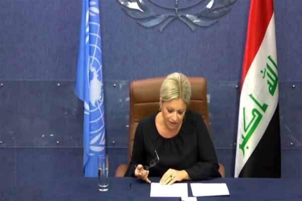 پلاسخارت گزارشی از اوضاع عراق به شورای امنیت ارائه داد