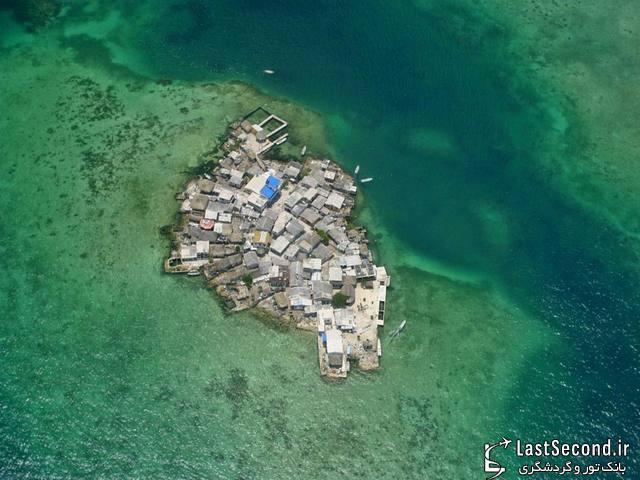 خانه هایی روی آب