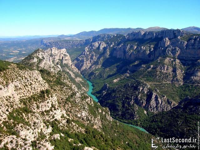 دره زیبا و دیدنی وردن در فرانسه