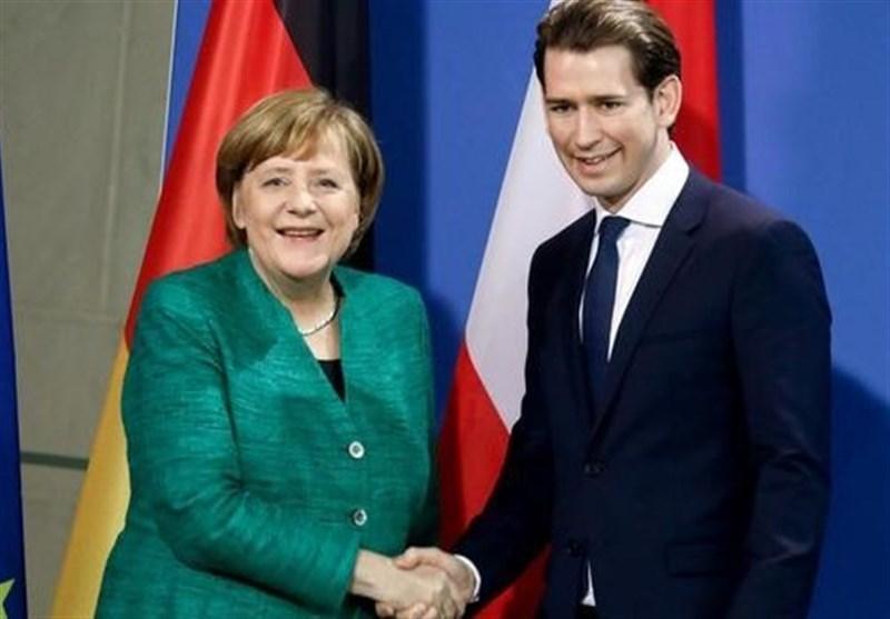 دیدگاه های متفاوت مرکل و صدر اعظم اتریش درباره مسائل اروپایی