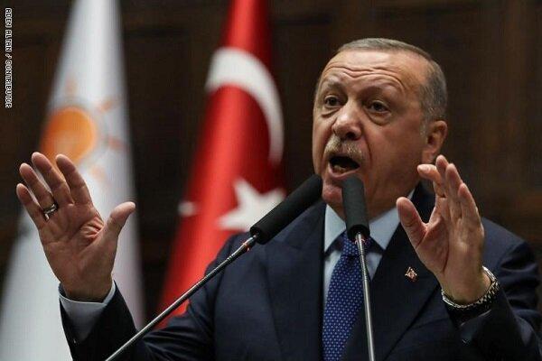 اردوغان: دُور زدن ترکیه در مدیترانه با گام های اخیر ما بازنده شد