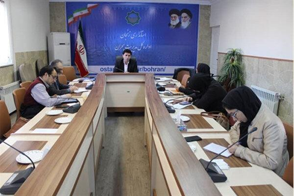 احتمال وقوع 18 حادثه طبیعی در زنجان