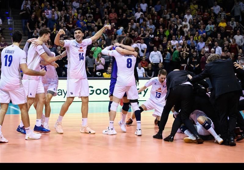 تیم های ملی والیبال فرانسه و تونس المپیکی شدند