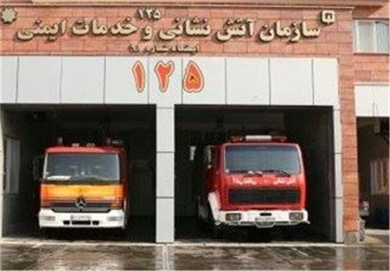 مهار آتش سوزی در بیمارستان امام خمینی و یک برج مسکونی