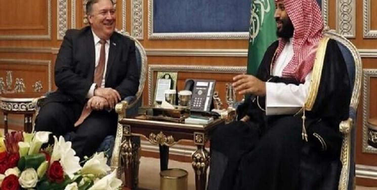 وزیر خارجه آمریکا با ولی عهد سعودی ملاقات کرد