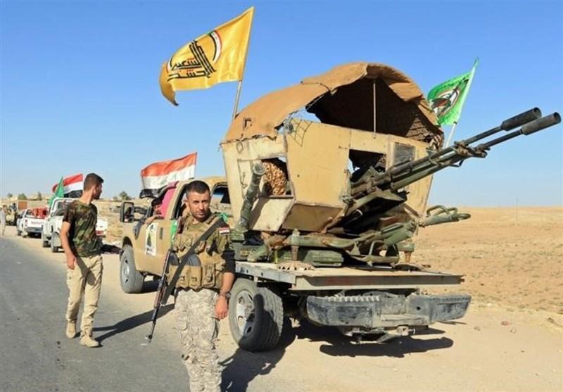 عراق، مقابله حشد شعبی با حمله تروریست های داعشی در خانقین