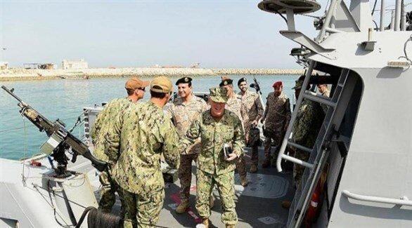 آغاز رزمایش دریایی مشترک عربستان و آمریکا