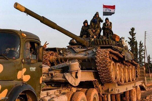 ارتش سوریه حمله گروههای تروریستی علیه مواضع خود را خنثی کرد