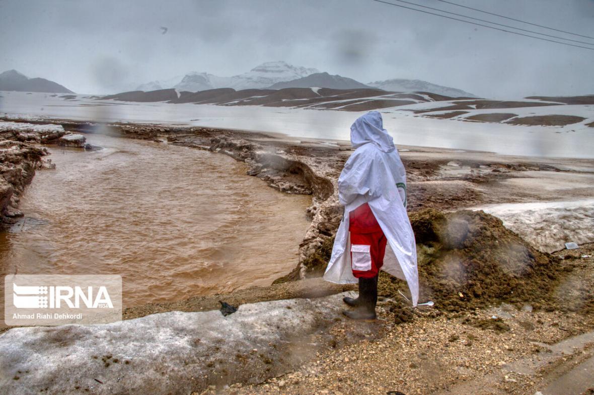 خبرنگاران آماده باش هلال احمر خراسان رضوی برای مقابله با سیلاب