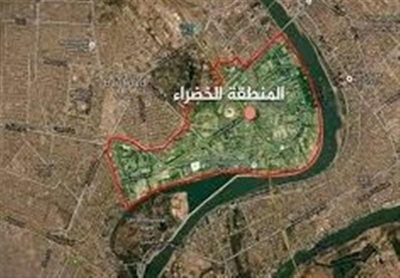 منطقه الخضراء بغداد هدف حمله موشکی نهاده شد