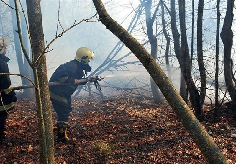 آتش سوزی های مشکوک در نزدیکی نیروگاه اتمی چرنوبیل اوکراین