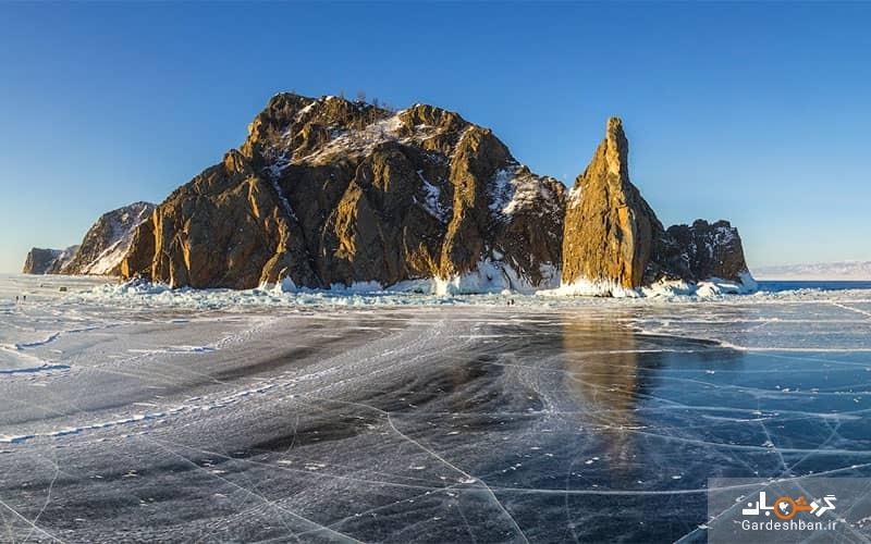 دریاچه بایکال روسیه؛عمیق ترین دریاچه جهان، عکس