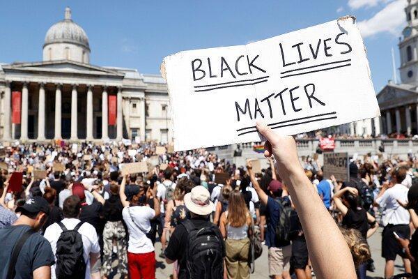 اعتراضات ضد نژادپرستی در آمریکا به انگلیس کشیده شد