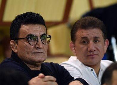 جلسه رئیس فدراسیون کشتی با محمدی و بنا
