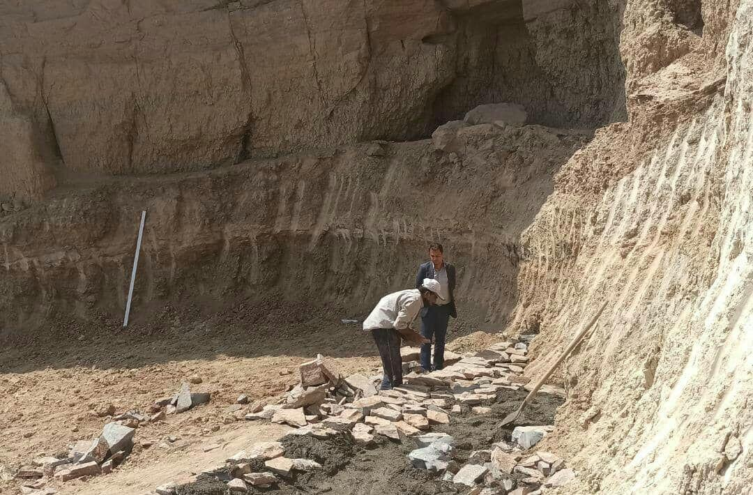 خبرنگاران بخشی از قلعه رستم بافران نایین بازسازی شد