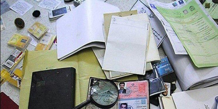 خبرنگاران دستگیری جاعل 20 میلیارد ریالی بیمه نامه خودرو در مرند