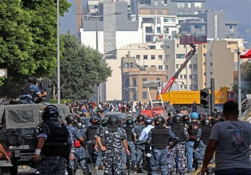 درگیری ها در بیروت، المنار: درگیری و اغتشاش در ورودی میدان مجلس ادامه دارد