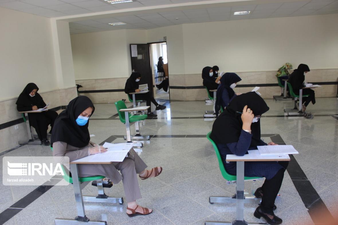 خبرنگاران رقابت بیش از 18 هزار داوطلب دانشگاه ها در یزد شروع شد