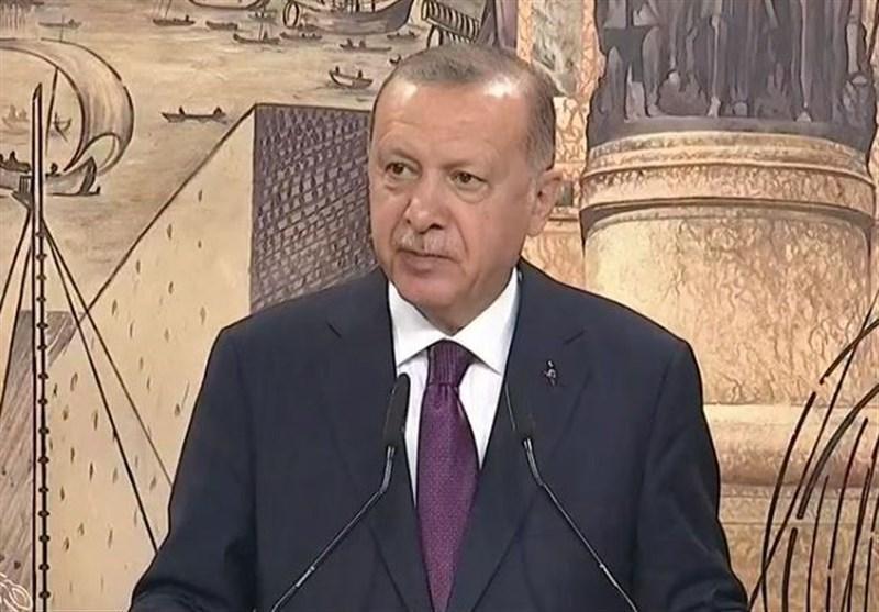 اردوغان: بزرگترین منبع گازی تاریخ ترکیه در دریای سیاه کشف شد