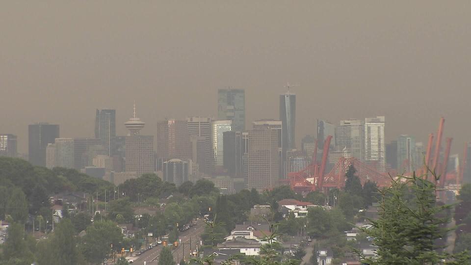 دود و غبار ناشی از آتش سوزی های آمریکا ونکوور را در صندلی چهارم آلوده ترین شهرهای جهان قرار داد!