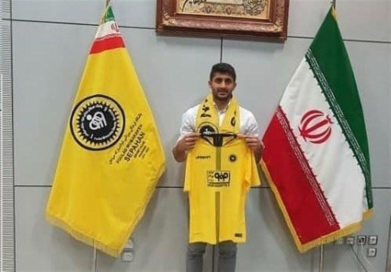 نژادمهدی: امیدوارم با سپاهان قهرمان لیگ برتر شوم، خاطرات خوبی از حضور در ذوب آهن دارم