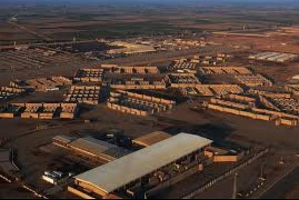 پایگاه هوایی البلد عراق هدف حمله راکتی قرار گرفته است