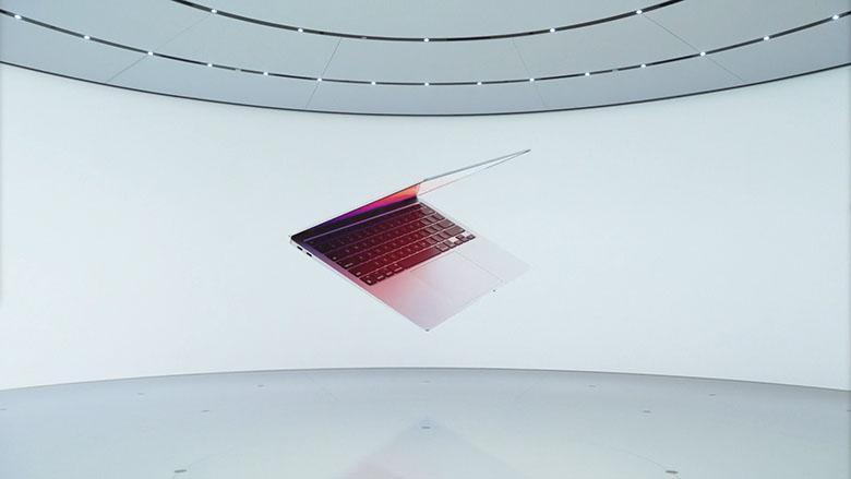 اپلی از مک بوک ایر جدیدی با پردازنده قدرتمند M1 آرم رونمایی کرد: 18 ساعت پخش ویدئو در یک بار شارژ به همراه پردازنده گرافیکی 8 هسته ای