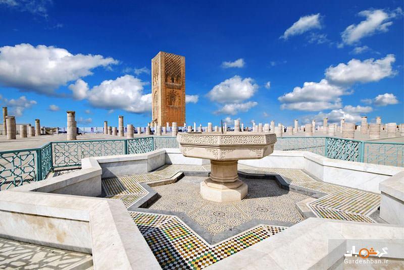 مسجد و برج حسن، عظمتی ناتمام در رباط