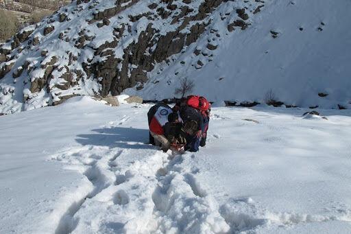 خبرنگاران نجات پنج کوهنورد در ارتفاعات اشترانکوه لرستان