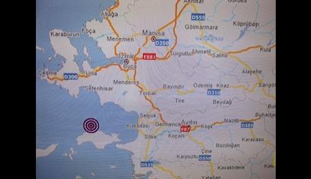 زلزله 4، 5 ریشتری در غرب ترکیه