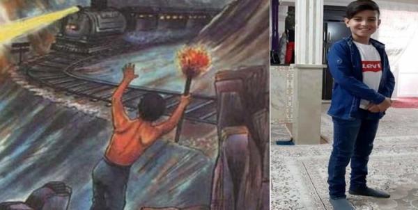 تکرار ماجرای دهقان فداکار؛ پسر 14 ساله جان مسافران قطار را نجات داد