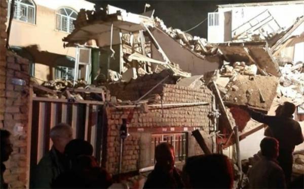ریزش مرگبار یک پروژه عمرانی در تهران