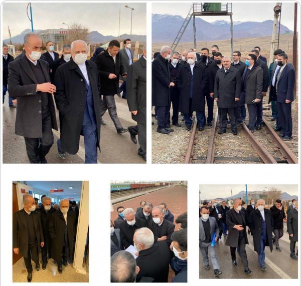 خبرنگاران ظریف:رونق اقتصادی ارس با بازگشایی راه های منطقه تحقق می یابد