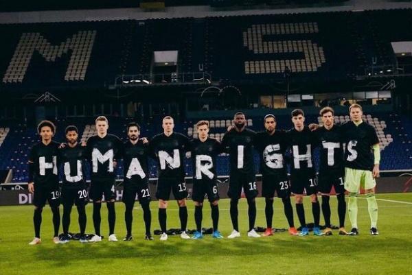 اعتراض حقوق بشری تیم های ملی فوتبال اروپا به فدراسیون قطر